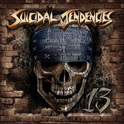 "Suicidal Tendencies - ""13"" CD cover image - Click to read review"