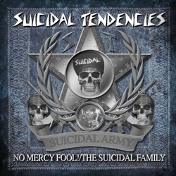 "Suicidal Tendencies - ""No Mercy Fool!/The Suicidal Family"" CD cover image"
