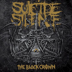 "Suicide Silence - ""The Black Crown"" CD cover image - Click to read review"