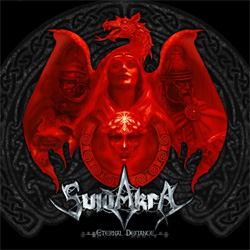 "Suidakra - ""Eternal Defiance"" CD cover image"