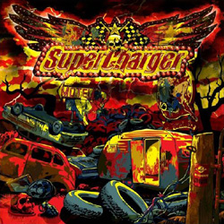 "SuperCharger - ""Handgrenade Blues"" CD cover image - Click to read review"