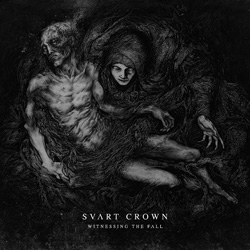 "Svart Crown - ""Witnessing The Fall"" CD cover image"