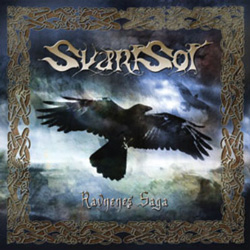 "Svartsot - ""Ravnenes Saga"" CD cover image - Click to read review"