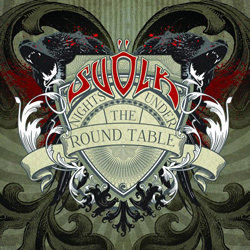 "Svolk - ""Nights Under The Round Table"" CD cover image"