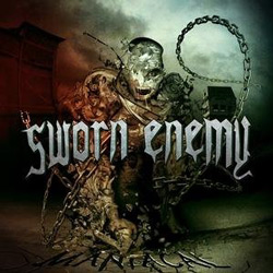 "Sworn Enemy - ""Manaical"" CD cover image"
