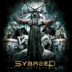 "Sybreed - ""God is an Automaton"" CD cover image"