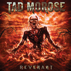 "Tad Morose - ""Revenant"" CD cover image - Click to read review"