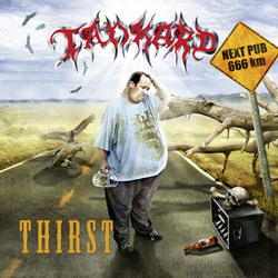"Tankard - ""Thirst"" CD cover image"