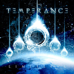 "Temperance - ""Limitless"" CD cover image - Click to read review"