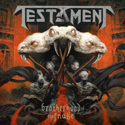 "Testament - ""Brotherhood Of The Snake"" CD cover image"
