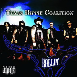 "Texas Hippie Coalition - ""Rollin'"" CD cover image"