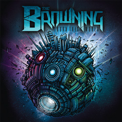 "The Browning - ""Burn this World"" CD cover image - Click to read review"