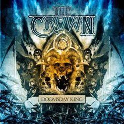 "The Crown - ""Doomsday King"" CD cover image - Click to read review"