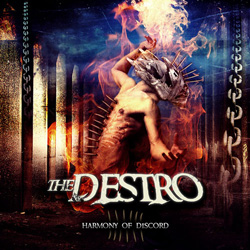 "The Destro - ""Harmony Of Discord"" CD cover image - Click to read review"