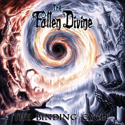 "The Fallen Divine - ""The Binding Cycle"" CD cover image - Click to read review"
