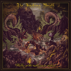 "The Fucking Wrath - ""Valley Of The Serpent's Soul"" CD cover image"