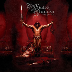 "The Gates Of Slumber - ""Conqueror"" CD cover image"