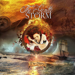 "The Gentle Storm - ""The Diary"" CD cover image"