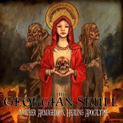 "The Georgian Skull - ""Mother Armageddon, Healing Apocalypse"" CD cover image"