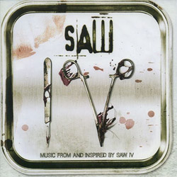 "Drowning Pool - ""Saw IV: Music From and Inspired By Saw IV"" CD cover image - Click to read review"