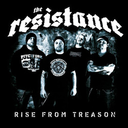 "The Resistance - ""Rise From Treason"" CD/EP cover image - Click to read review"