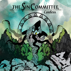 "The Sin Committee - ""Confess"" CD cover image - Click to read review"