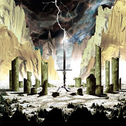 "The Sword - ""Gods Of The Earth"" CD cover image - Click to read review"