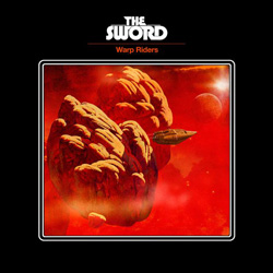 "The Sword - ""Warp Riders"" CD cover image - Click to read review"