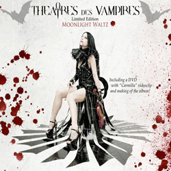 "Theatres Des Vampires - ""Moonlight waltz"" CD cover image - Click to read review"
