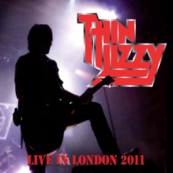 "Thin Lizzy - ""Live In London"" 2-CD Set cover image - Click to read review"