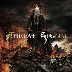 "Threat Signal - ""Threat Signal"" CD cover image"