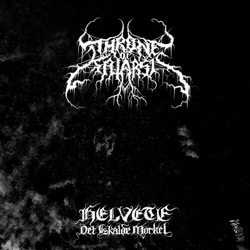 "Throne of Katarsis - ""Helvete - Det Iskalde Mørket"" CD cover image - Click to read review"