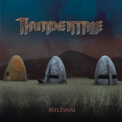 "Thundertale - ""Milzinai"" CD cover image - Click to read review"