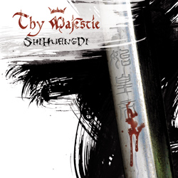 "Thy Majestie - ""ShiHuangDi"" CD cover image"