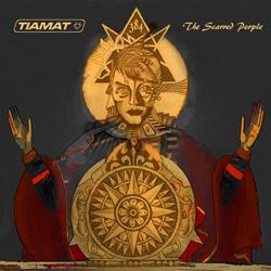 "Tiamat - ""The Scarred People"" CD cover image - Click to read review"