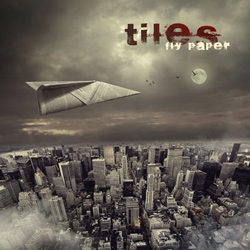 "Tiles - ""Fly Paper"" CD cover image - Click to read review"
