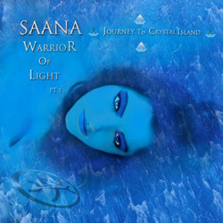 "Timo Tolkki - ""Saana - Warrior Of Light Part 1: Journey To Crystal Island"" CD cover image"