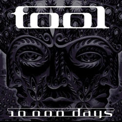 "Tool - ""10,000 Days"" CD cover image - Click to read review"