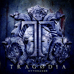 "Tragodia - ""Mythmaker"" CD cover image - Click to read review"