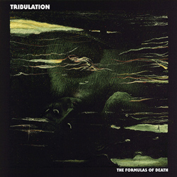 "Tribulation - ""The Formulas of Death"" CD cover image"