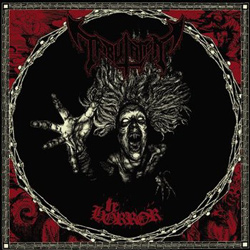 "Tribulation - ""The Horror"" CD cover image - Click to read review"