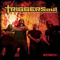 "Triggersoul - ""Restoration"" CD cover image"