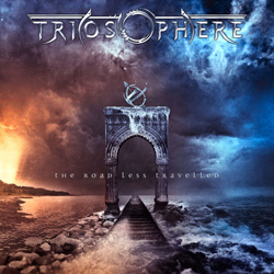 "Triosphere - ""The Road Less Travelled"" CD cover image - Click to read review"