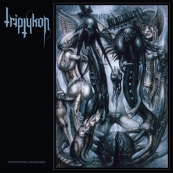"Triptykon - ""Eparistera Daimones"" CD cover image - Click to read review"