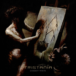 "Tristania - ""Darkest White"" CD cover image - Click to read review"