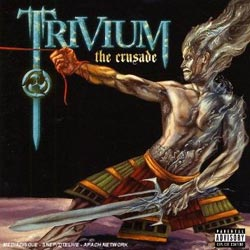 "Trivium - ""The Crusade"" CD cover image - Click to read review"