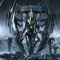 "Trivium - ""Vengeance Falls"" CD cover image"