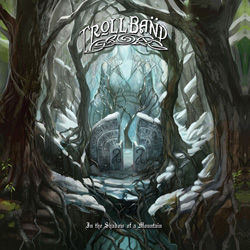 "Trollband - ""In The Shadow Of A Mountain"" CD cover image"