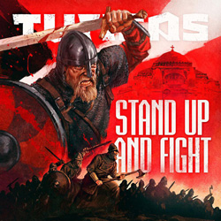 "Turisas - ""Stand Up and Fight"" CD cover image - Click to read review"