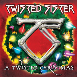"Twisted Sister - ""A Twisted Christmas"" CD cover image"
